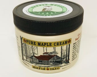 Maple Cream Made from 100% Pure Vermont Maple Syrup - Also Known as Maple Butter