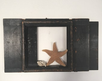 Vintage Frame, Antique Wood Frame from Daguerreotype Camera, Slide Case from the Plate Camera