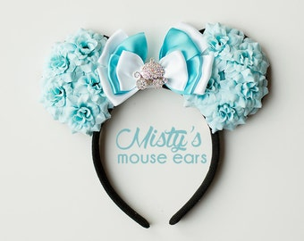 Inspired Cinderella Rose Mouse Ears