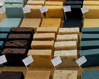 Handmade Soap Bars (ALL VARIETIES listed here)