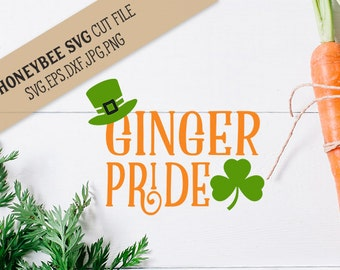 Ginger Pride svg eps dxf jpg png cut file for Silhouette and Cricut style cutting machines