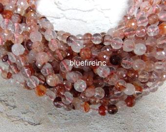 48 pcs 8mm Natural Color Quartz Beads in Full strand