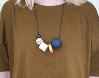 CIPRIANA - Multi-Colored Beaded Necklace