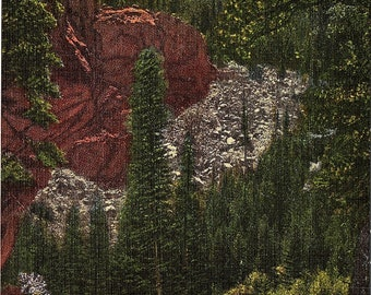 Boulder, Colorado, Boulder Canyon - Postcard - Vintage Postcard - Unused (QQ)