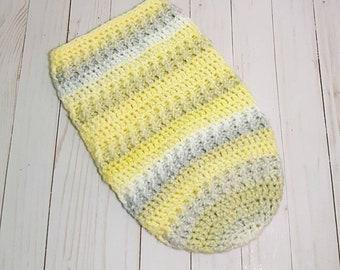 Crochet Infant Sleep Sack, Infant Sleep Sack, Baby Sleeping Bag, Swaddle Bag, Swaddle Sack, Newborn Cocoon