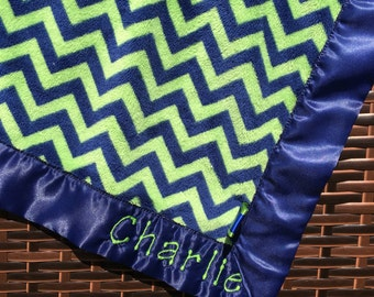 Personalized snuggle blanket