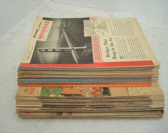 Junior Catholic Messenger 68 Editions & The Young Catholic Messenger 67 Editions 1953-1957