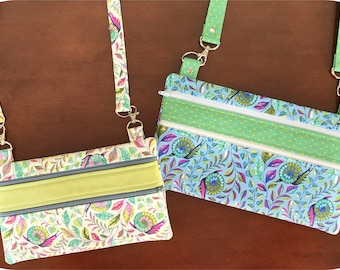 In the Hoop Double Zip Organizers Machine Embroidery Files