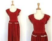Vintage 50s Party Dress- ...