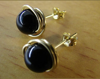 earrings gemstone 14 k gold filled women