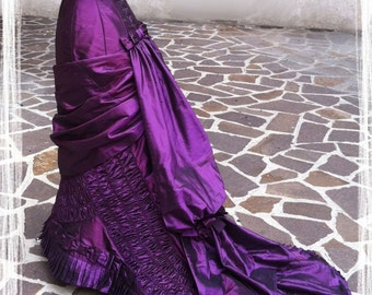 Victorian dress- 1880. ball gonwn, Anna Karenina