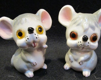 Mouse  Salt and Pepper Shakers (1163)