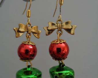 Kitsch Christmas Earrings