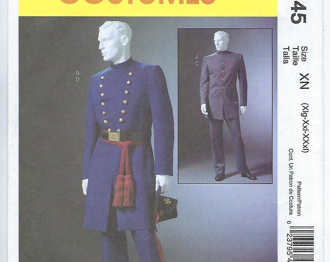 Featured listing image: McCalls 4745 (XN) - MENS Civil War Costumes / XLG, Xxl, Xxxl