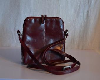 Vintage Wilson Leather Deep Red Purse