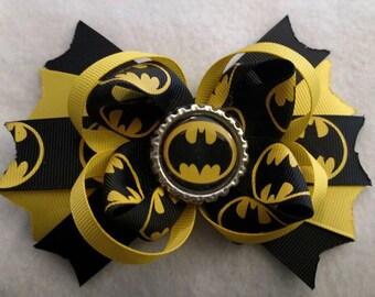 Batman Boutique Layered hair bow