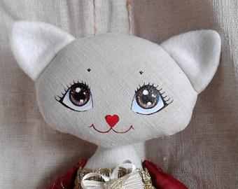 6 Handmade toy Cat