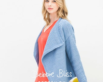 Debbie Bliss DB004 Cotton DK Pattern Single Pattern Booklet