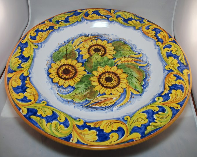 Featured listing image: Traditional Sicilian Decorative Plate