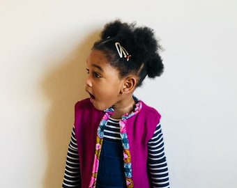 Little girl's cardigan