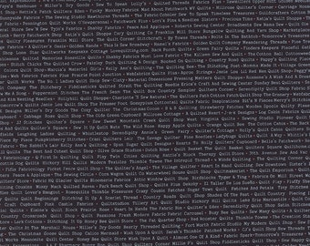 Volume II (5613 24) Store Names in Black by Sweetwater