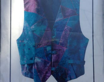 Just a Sliver Vest! Very Wearable Art pattern by Bethany Reynolds