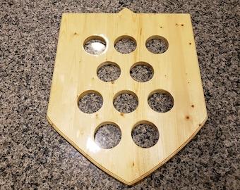 Vegas Golden Knights Shield Puck Display