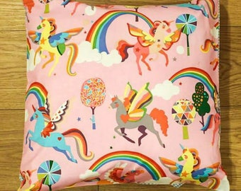 Pegasus unicorn cushion cover