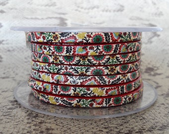 5mm flat printed with high quality European leather strap