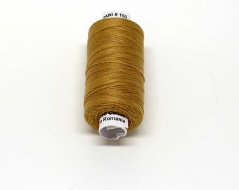 Valdani 60wt. Cotton Thread - #150 Wheat