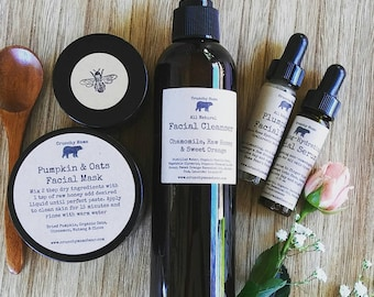 All Natural Skin Care Gift Set