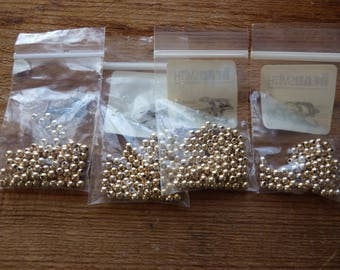 4mm 14K gold filled rounds in original packaging
