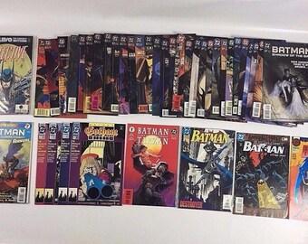 Lot of 41 Comic Books DC Batman Shadow Of The Bat #/29~64 Annuals Detective Comic C20