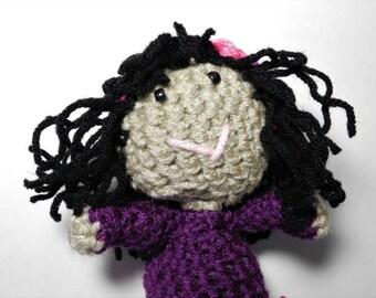 stuffed dolls, stuffed doll with curly hair, stuffed baby doll, stuffed girl doll, handmade stuffed doll, stuffed dolls handmade, crocheted