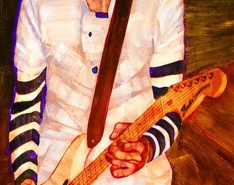 Billy Corgan of the Smashing Pumpkins - Limited Edition Print 8.5 x 11