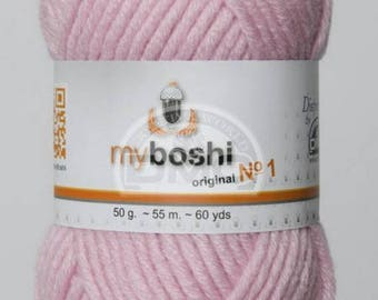 My Boshi 138 pink wool