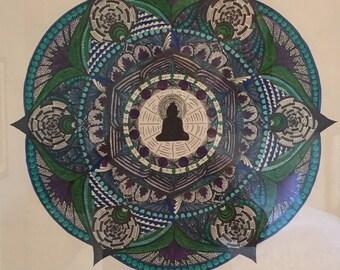 Custom Mandala in Color