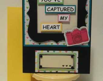 You've Captured My Heart Blank Greeting Card