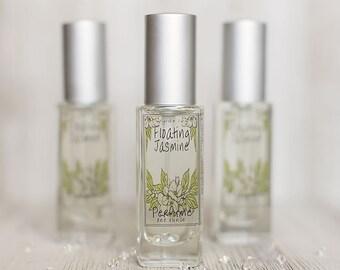 Floating Jasmine Perfume | Spring and Summer Inspired Fragrance of Jasmine, Green Grass, Sunshine, and Orange