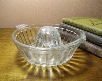 Vintage Glass Reamer - Juicer