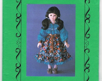 Little Crow Sewing Craft Pattern for Doll Clothing