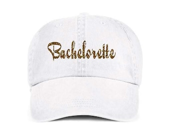 BACHELORETTE Baseball Style Hat/Cap/Bridal/Wedding/Special Activities/Parties/Showers
