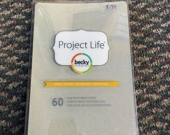 Project Life Textured Cardstock Honey Edition 4x6