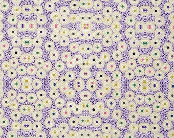 Purple patchwork, first Lord - DAISY by Rowan Fabrics fabric