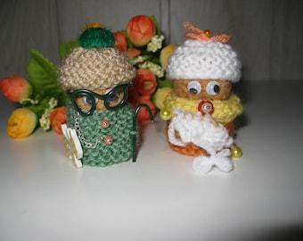 figurines couple Grandma and Grandpa