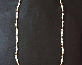 Men's Necklace in wood-Jupiter