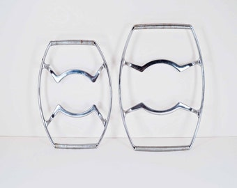 Corning Ware Stainless Trivets Set of 2