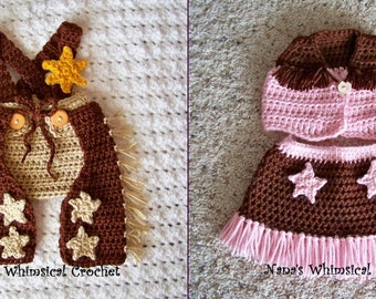 Cowboy and Cowgirl Accessories Pattern