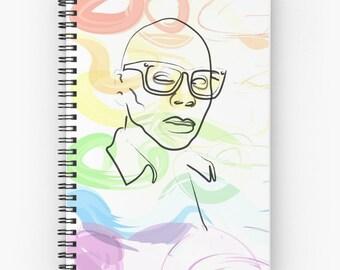 Rupaul pride notebook