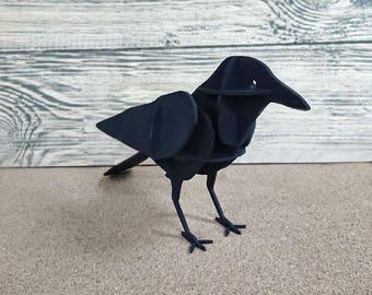 Wooden raven
